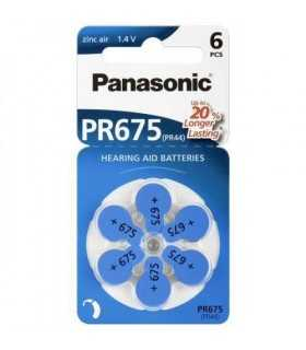 Baterii aparate auditive V675 Panasonic