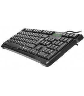 Tastatura USB neagra KR-750-USB A4Tech