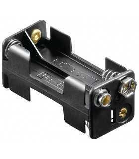Suport baterie 4x AAA R3 cu mufa de conectare 9V Goobay