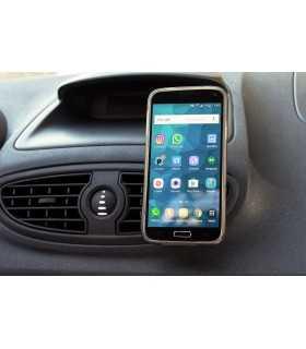 Suport telefon universal magnet in grila ventilatie auto Goobay