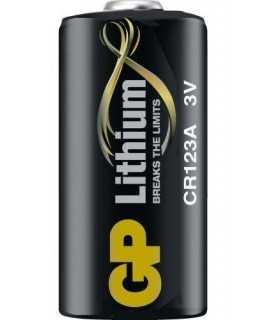 Baterie litiu CR123A 3V 16.8x34.5mm GP