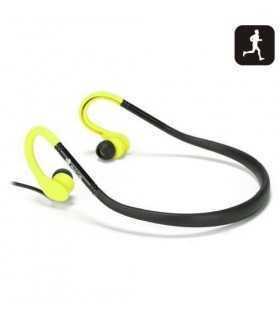 Casti stereo in ureche 3.5mm Cougar galben/negru rezistente la apa NGS