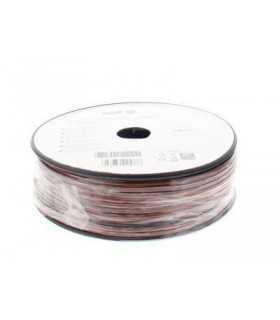 Cablu difuzor rosu/negru OFC cupru 2x0.50mm Well