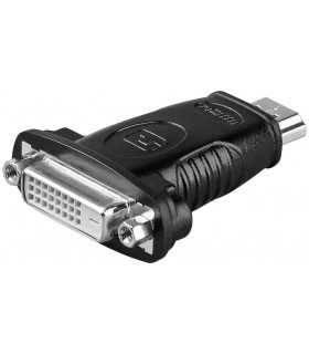 Adaptor HDMI 19p tata la DVI-D 24+1 mama Goobay