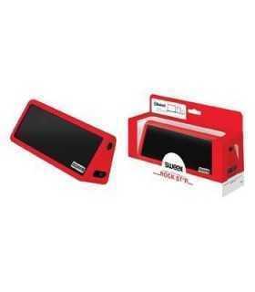 Boxa portabila cu Bluetooth si difuzor stereo Rock Star rosie Sweex