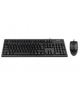 Kit mouse si tasatura cu fir 8520D A4Tech