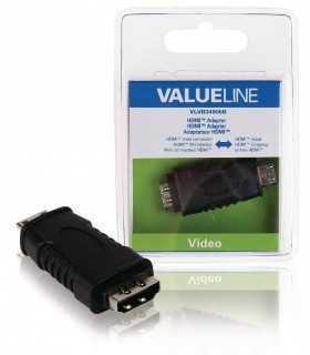 Adaptor mini HDMI- intrare HDMI Valueline