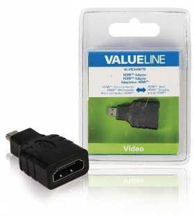Adaptor micro HDMI-intrare HDMI Valueline