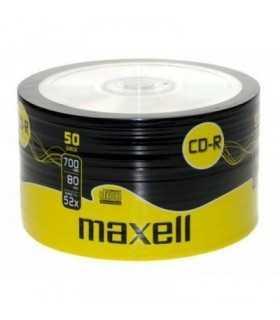 CD-R printabil 700MB 52x 50buc pe folie Maxell