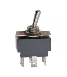 Comutator cu brat 2 circuit 10A 250V ON-ON cu retinere
