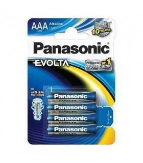 Baterii R3 AAA Panasonic alkaline Evolta 4buc