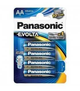Baterii R6 AA Panasonic alcaline Evolta 4buc