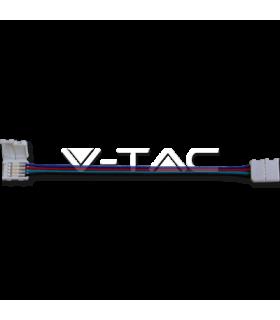 Conectori pe fir flexibil banda LED flexibil pentru SMD 5050 RGB V-TAC
