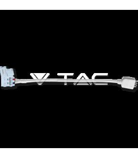 Conector banda LED 3528 flexibil RGB cu pini V-TAC