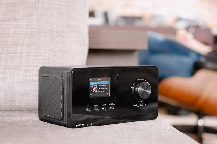 APARAT RADIO INTERNET DAB+ KRUGER&MATZ